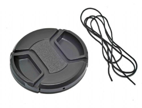 Kood Centre Grip Front Lens Cap 62mm & Keep Cord